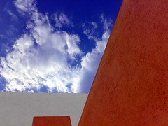 Juriquilla 4 (conceptual) Tags: sky house color colour building home mexico casa construction arquitectura colours colores queretaro cielo construccin hogar skyarchitecture juriquilla