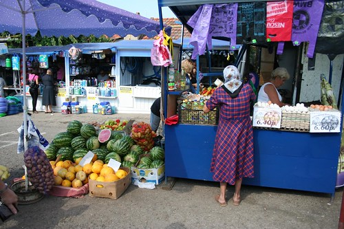 Mercado central de Tiraspol na Pridnestróvia