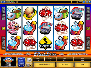 5 Reel Drive slot game online review