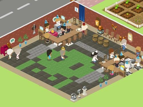 090908(2) - Restaurant City 地板圖:VIDEO GAMES LIVE