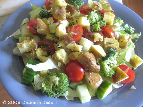 Smash Potatoes: Leftovers in a Salad
