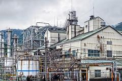 (digicacy) Tags: plant industry japan panasonic handheld niigata jpeg hdr chemical  cs4  3exp lx3
