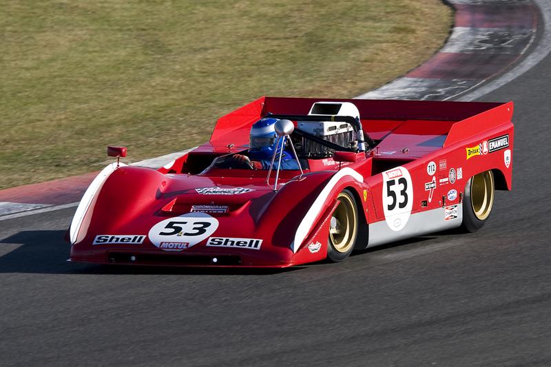 The stunning Can-Am Ferrari
