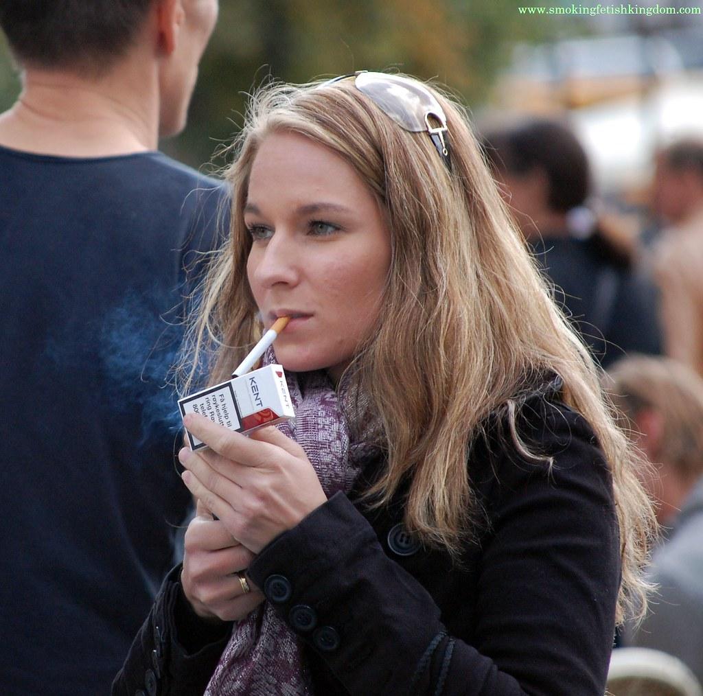 Smoking fetish redhead has sex while smoking 6