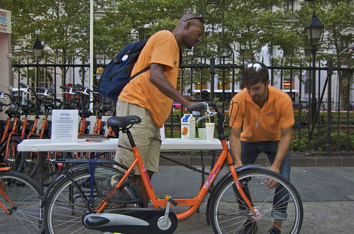 NY400 Bike Share
