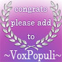 The ~VoxPopuli~ Silver Award