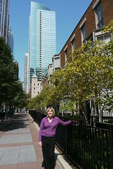 Francesca Rose, Streeterville Realtor from Prudential Rubloff Properties, on McClurg Ct in Streeterville