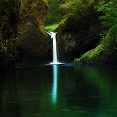 Peace, Like a River,.... (Darrell Wyatt) Tags: green water forest waterfall waterfalls thesuperbmasterpiece pfsecret pfemerald pfgreenwood primevalforestgroups pfgreenwater pfwaterfall pfparadise