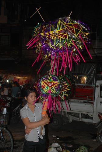 Mid autumn festival market