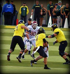 JEREMIAH TAEATAFA MASOLI (Michael Lechner) Tags: college sports oregon football image stadium quarterback ducks eugene ncaa eugeneoregon goducks oregonducks collegefootball autzen collegesports pac10 division1 autzenstadium masoli oregonducksfootball jeremiahmasoli mightyoregon talkingducksfootballhere ducksspirit