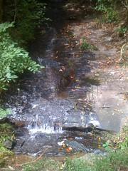 Small Sliding Falls on Trey Mountain
