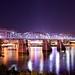The Purple People Bridge, Cincinnati, Ohio