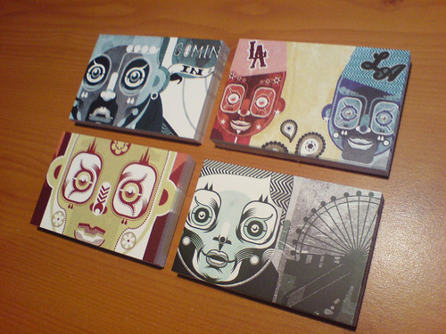 Create Business Cards with your best designs, like Johnny Wan, above.