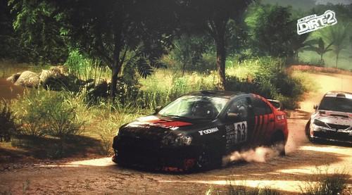 DiRT 2 gameplay su Mitsubishi Evo X (video)