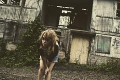 (yyellowbird) Tags: ohio selfportrait abandoned girl amusementpark cari chippewalake