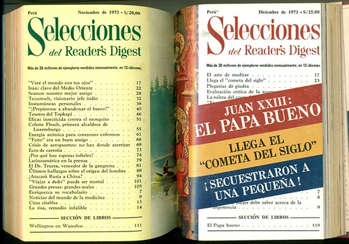 Revista Selecciones del Reader's Digest 1973