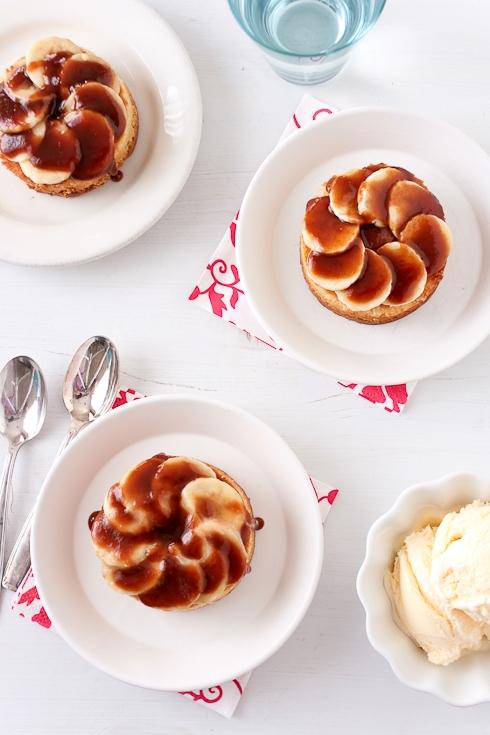 Bananas Foster Tartelettes