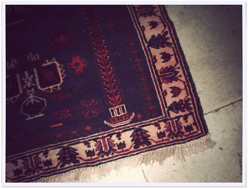 Afghan handmade carpet