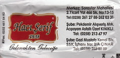 Hacı Şerif - Arka