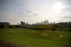 Toronto from Broadview Park (The Cach) Tags: park toronto skyline canon rebel xt sigma 1770 broadview