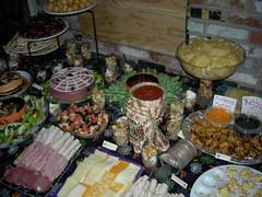 Food Table! (jillmotts) Tags: halloween halloweenfood halloween2009