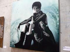 By Indigo (vitostreet) Tags: streetart paris france stencil indigo pochoir parisstreetart vitostreet stencilhistoryx