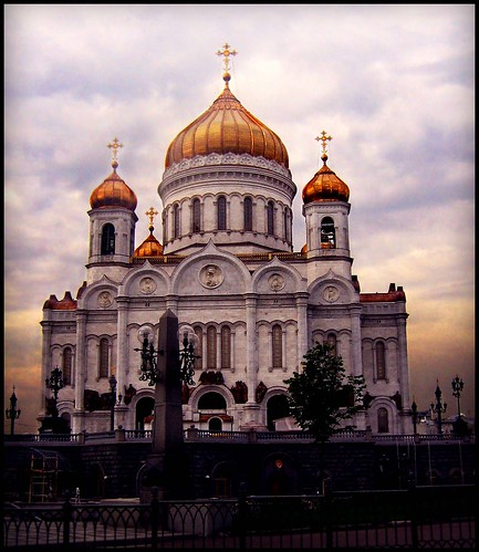 Moscow-Cathedral of Christ the Saviour