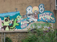 Rolf Harris (houseofrock) Tags: art public graffiti kid sheffield rolf harris phlegm acne