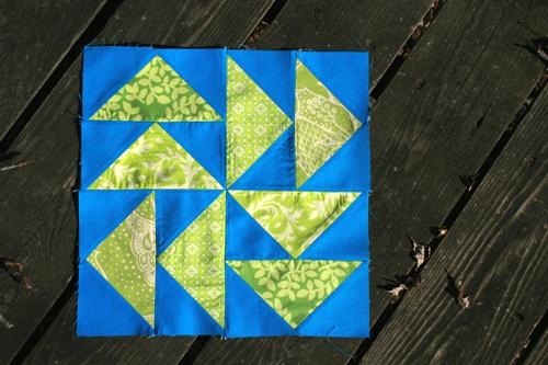 dutchman's puzzle block