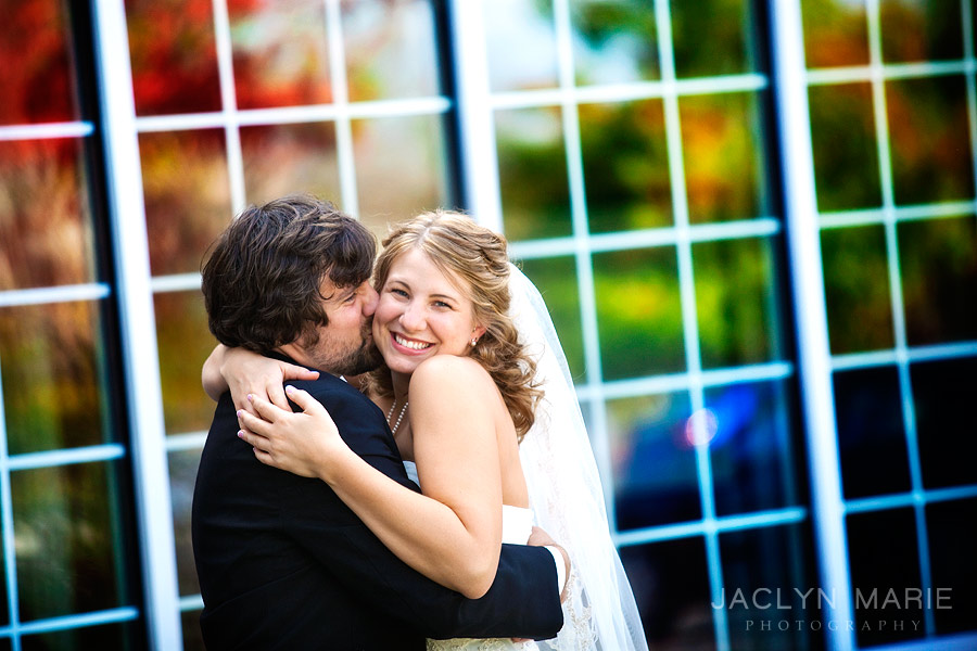 Jaclyn Marie Photography fall wedding photo