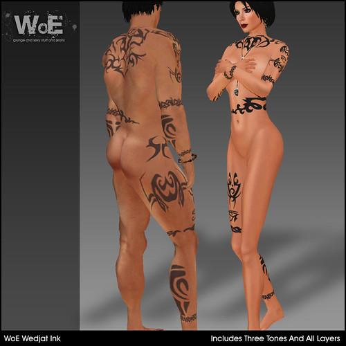 WoE TAT-04 Wedjat Ink
