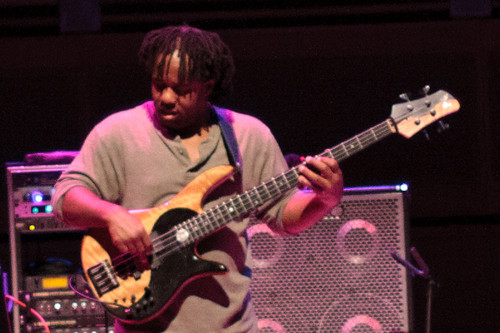 Victor Wooten of Béla Fleck and the Flecktones @ Strathmore
