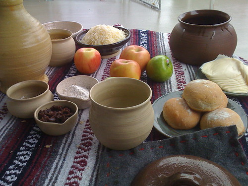 Medieval pottery and food
