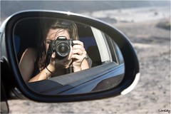 Autoretrato! (Lorelay Pardo) Tags: fuerteventura autoretrato coche espejo lapared lorelay