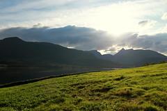 Stordalen (flickr.Marcus) Tags: ocean mountains fall norway norge fjord geotag 2009 vann senja fjell stordalen breidtinden bredtinden