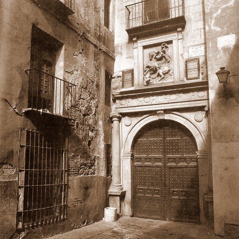 Convento de Santa Fe a inicios del siglo XX