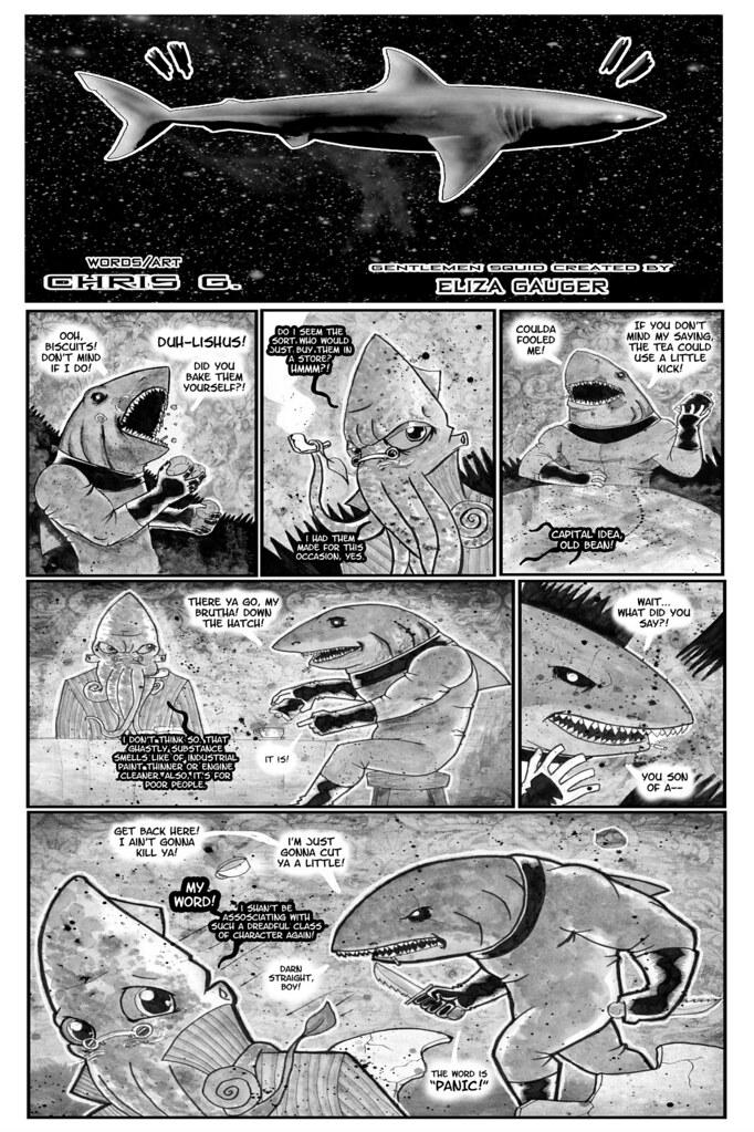 SPACE SHARK #005