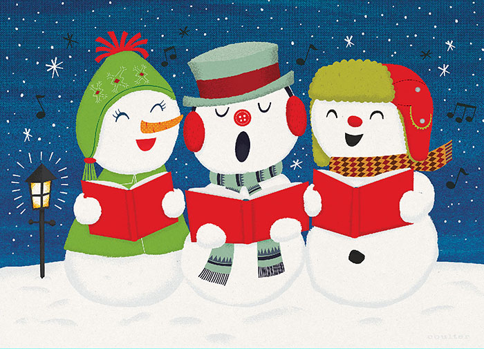 Snowmen Carolers