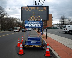 Traffic Billboard, North Bergen Police Department, Hudson County, New Jersey (jag9889) Tags: newjersey traffic control board homelandsecurity nj police 2009 department finest advisory northbergen hudsoncounty bergenlineavenue y2009 jag9889