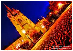 Oxford Blue Hour Sky (davidgutierrez.co.uk) Tags: city uk blue sky urban building tower church architecture night buildings dark spectacular geotagged photography photo twilight arquitectura university cityscape darkness image dusk sony centre cities cityscapes bluesky center structure architectural nighttime 350 hour oxford architektur nights sensational metropolis bluehour alpha impressive dt nightfall radcliffesquare municipality edifice cites f4556 1118mm theuniversitychurchofstmarythevirgin sonyalphadt1118mmf4556 1001nightsmagiccity sony350dslra350