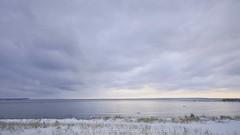 20091206-GillsPierSS (Ken Scott) Tags: winter sunset usa snow beach clouds timelapse michigan lakemichigan greatlakes leelanau kenscottphotography kenscottphotographycom