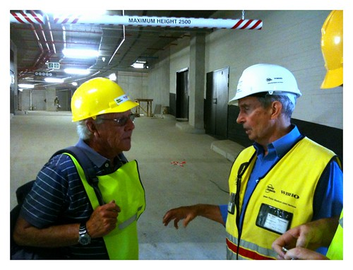 Charl Pauw (former SABC news reporter) chats to Ray Gamble - project manager of the Cape Town World Cup Stadium