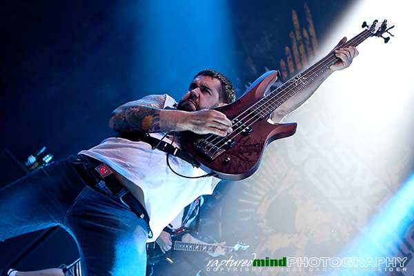 Mike D'Antonio - Killswitch Engage - Live Music Photos - Oberhausen, Turbinenhalle - 09.12.2009