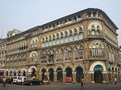 Elphinstone Building - Bombay - 1870 (DBHKer) Tags: india heritage architecture buildings sandstone colonial bombay maharashtra mumbai palazzo venetiangothic