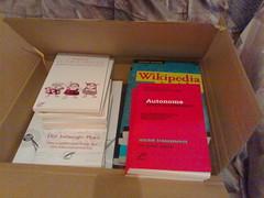 Bücher auspacken: Unrast