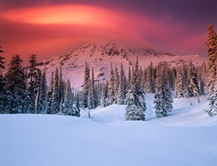 Swoosh (David Shield Photography) Tags: winter sunset sky cloud snow color washington mtrainier mtrainiernationalpark coth abigfave colorphotoaward outdoorphotographermagazine flickraward platinumpeaceaward merzetapotd naturesgreenpeace mothernaturesgreenearth