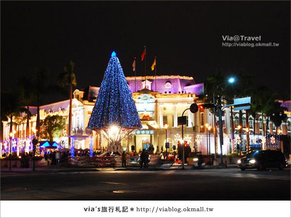 台中耶誕節活動-台中市政府耶誕裝飾2