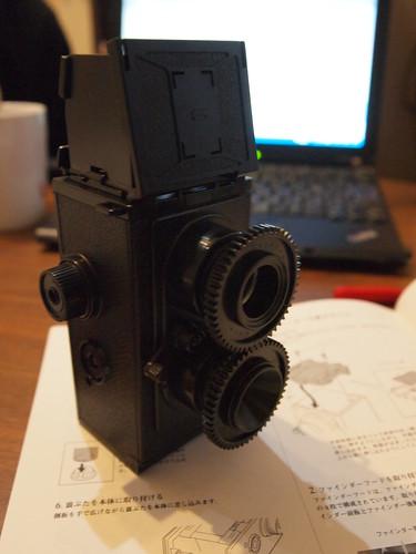 二眼レフ(twin-lens reflex camera)