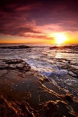 [フリー画像] [自然風景] [海の風景] [海岸の風景] [朝日/朝焼け] [オーストラリア風景]      [フリー素材]