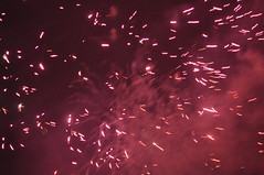 New Year's Day Fireworks (01/01/2010) (CeBepuH) Tags: prague fireworks praha newyear 2010 pražský ohňostroj novoroční прага новагодина фойерверки
